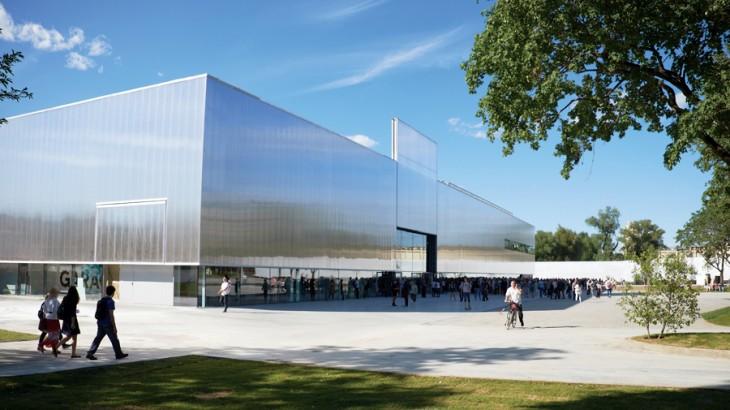 The Rem Koolhaas-designed Garage Museum in Gorky Park.