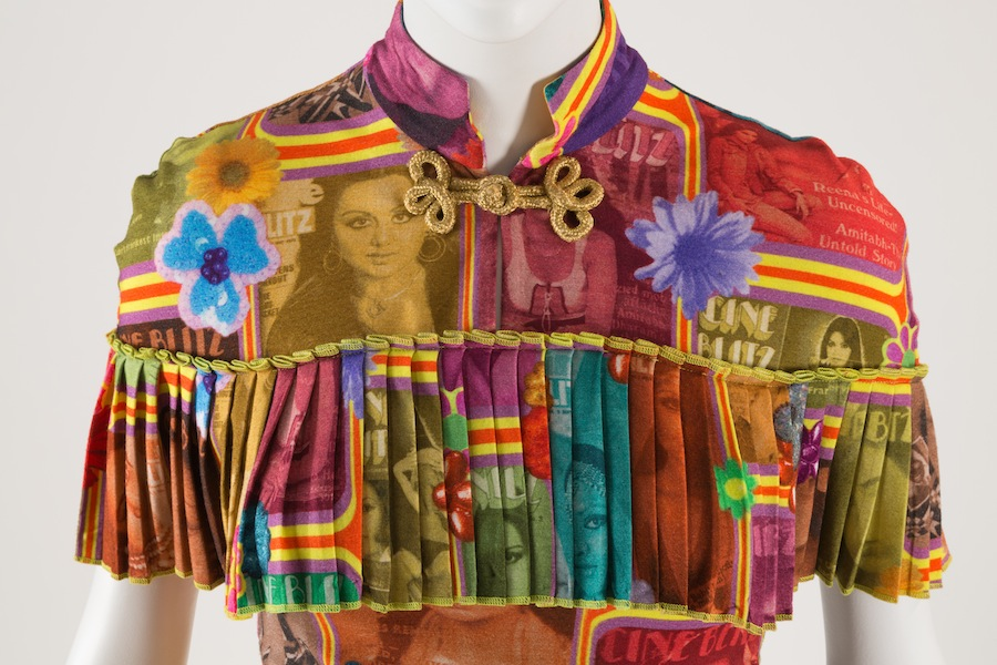 Manish Arora, Detail of top, Spring 2006, New Delhi