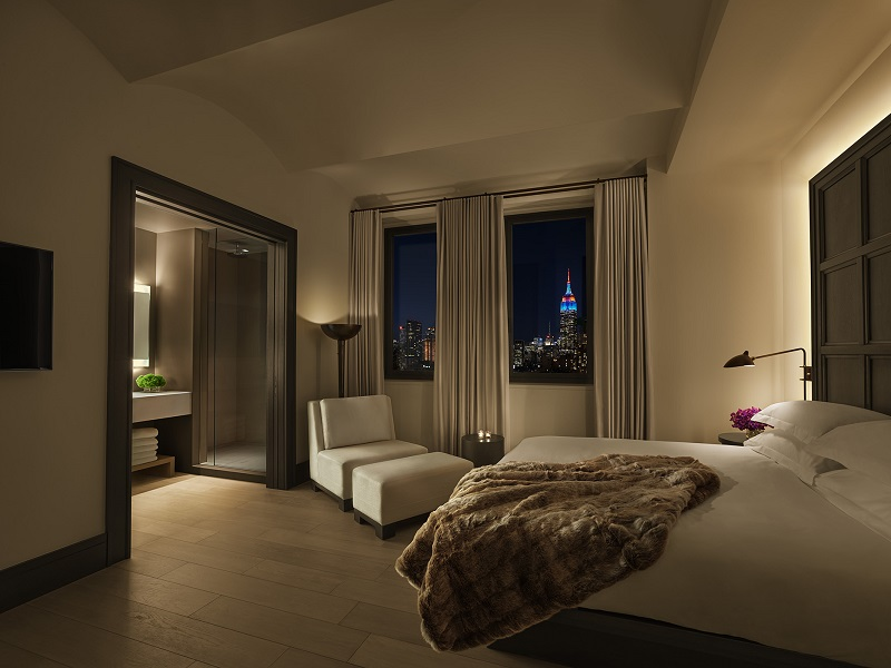 The Edition Hotels brand is headed by Ian Schrager, who also conceived Studio 54 and The Gramercy Hotel.