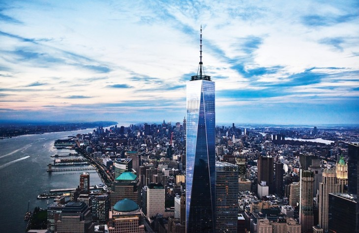 Designed by Daniel Libeskind and David Childs, One World Trade in Manhattan's Financial District is now the tallest building in the Western Hemisphere.