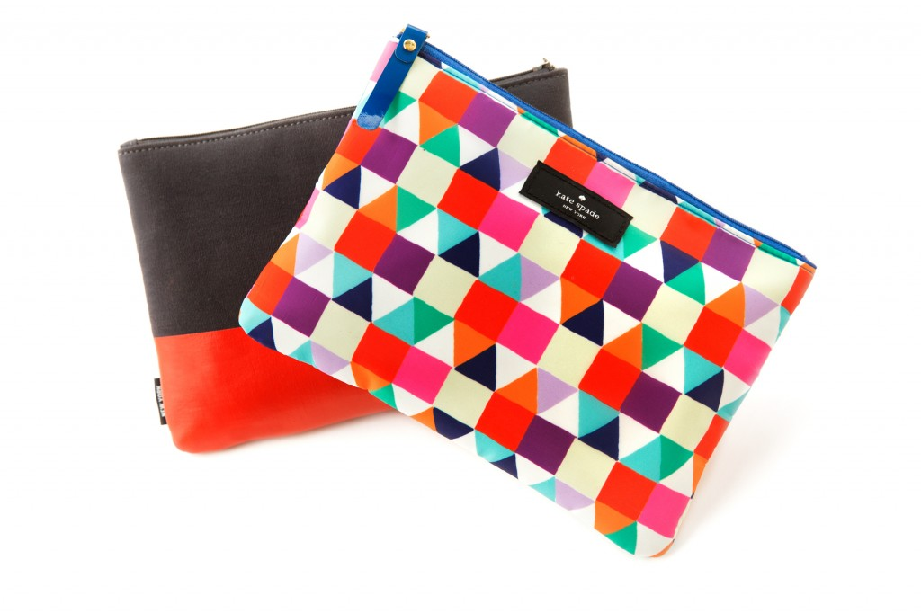Kate and Jack Spade amenity kits are offered to Business Class travelers.