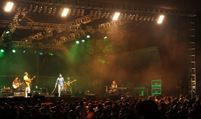 The Rainforest World Music Festival is set at the base of Mount Santubong, about 35 kilometers north of Kuching.
