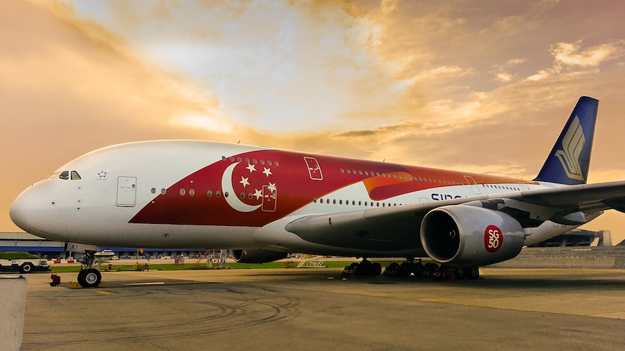 The two A380s will fly to destinations as far-reaching as London and Zurich.