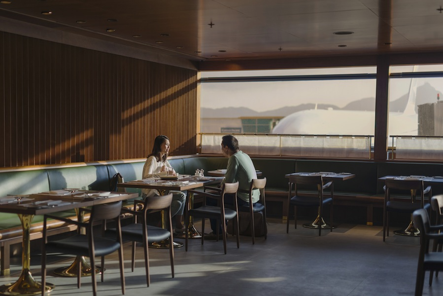 The Pier First Class Lounge features the Dining Room, which can cater to 100 people at a time with meals made-to-order.
