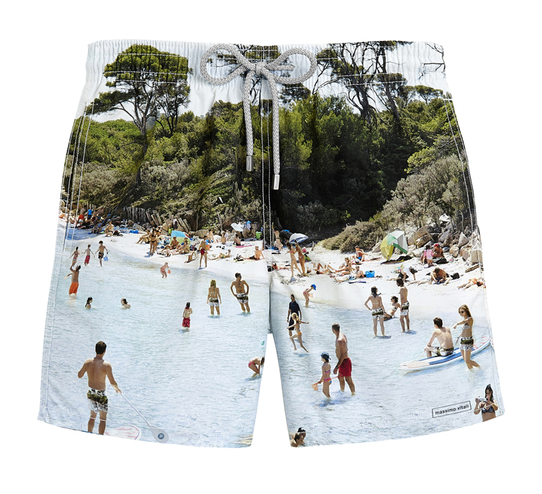 Villebrequin x Massimo Vitali men's Moorea swimsuit (US$300)