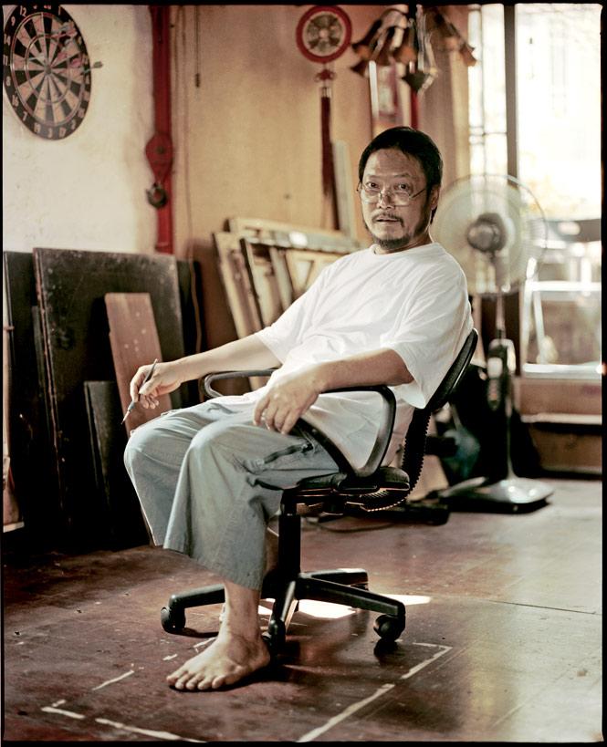 Painter Co Chu Pin.