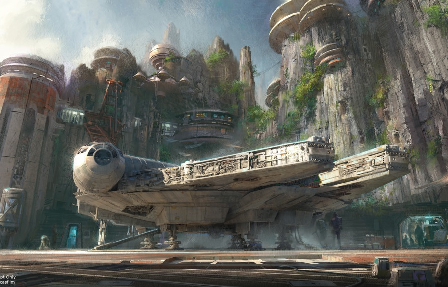 The Star Wars parks will be built as expansions to the Disney World in Orlando, Florida, and Disneyland in Anaheim, California.