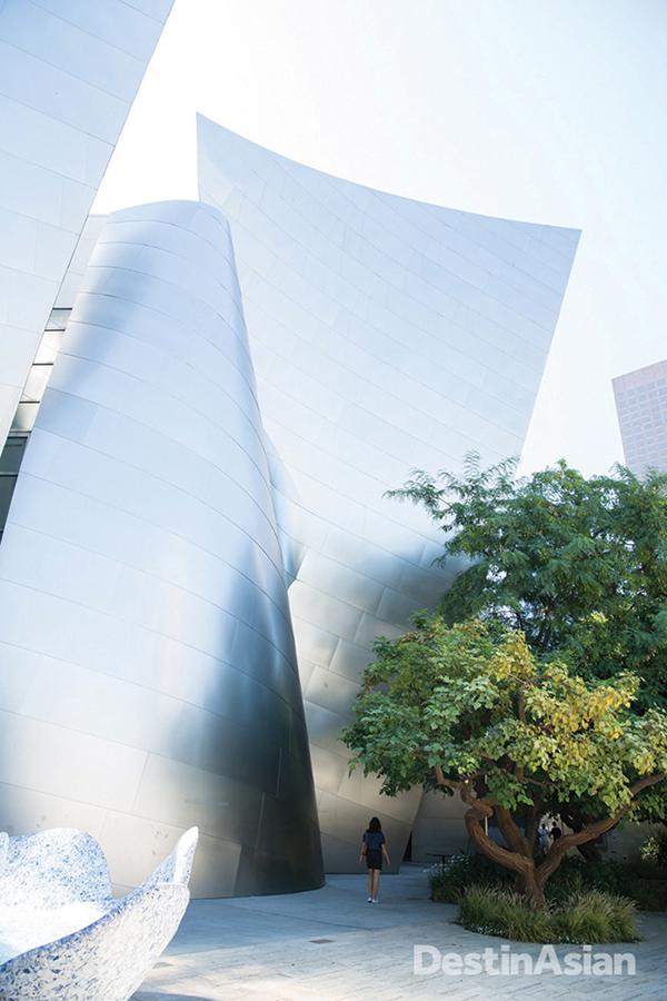 Downtown's Walt Disney Concert Hall.