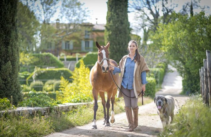Experience the French countryside in luxury at Domaine de la Baume.