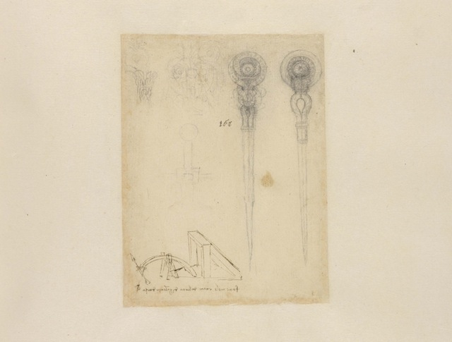 The never-before-seen 'Drawing of Two Compasses.'
