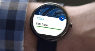 The smartwatch app will send timely information to passengers at Dubai International Airport.