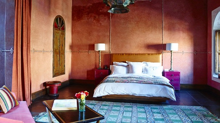 El Fenn's 28 rooms and suites are individually styled with a mix of traditional Moroccan design and a vintage European twist.