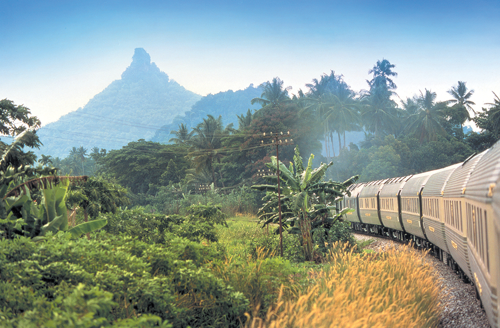 The Belmond-run Eastern and Oriental is Asia's sole luxury train.