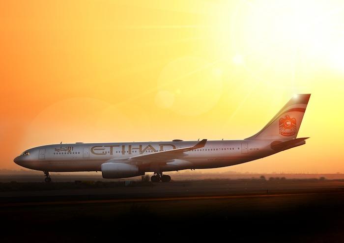 Etihad's Airbus A330 aircraft.
