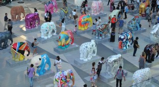 Bangkok Elephant Parade 2015 is a first for Thailand and will be the only one for the capital.