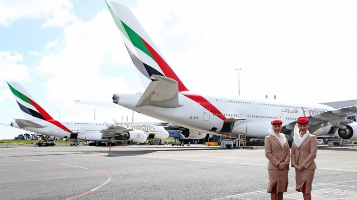 Emirates A380s