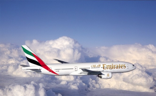 Emirates Airways 777