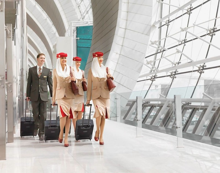 Emirates has a leading safety rating and is recognized by Airline Rating's for its in-flight service.