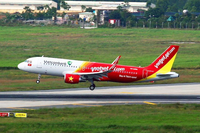 The Vietnamese low-cost carrier's international routes include Singapore, Bangkok, Taiwan, South Korean, Cambodia, Japan, and China.