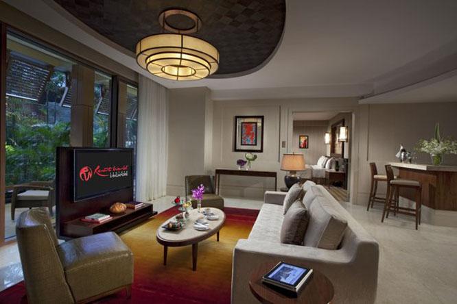 Deluxe Suite at the Equarius Hotel