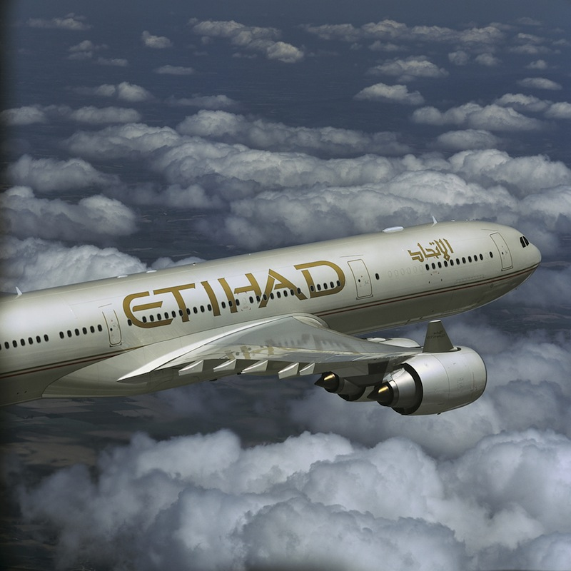Etihad's A330-200 aircraft will service the new Hong Kong route.