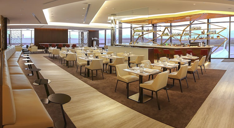 The lounge offers an additional 26 seats in its dining area.