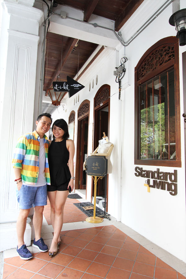 Owners Ben Lim & June Huang.