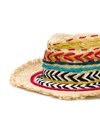 Etro's colorful, zany hat