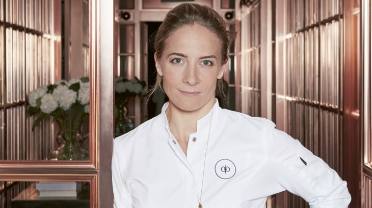 Chef Amandine Chaignot of Rosewood London's Mirror Room.