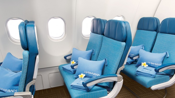 Hawaiian Airlines will be offering a new class of seats that offer more legroom and other amenities.