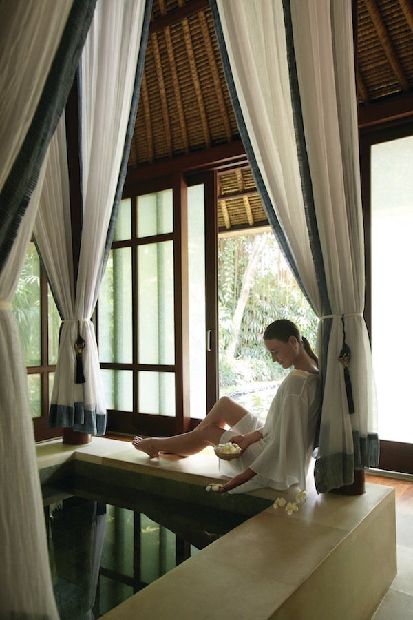 Relax in Bali's lush Ubud during the retreat.