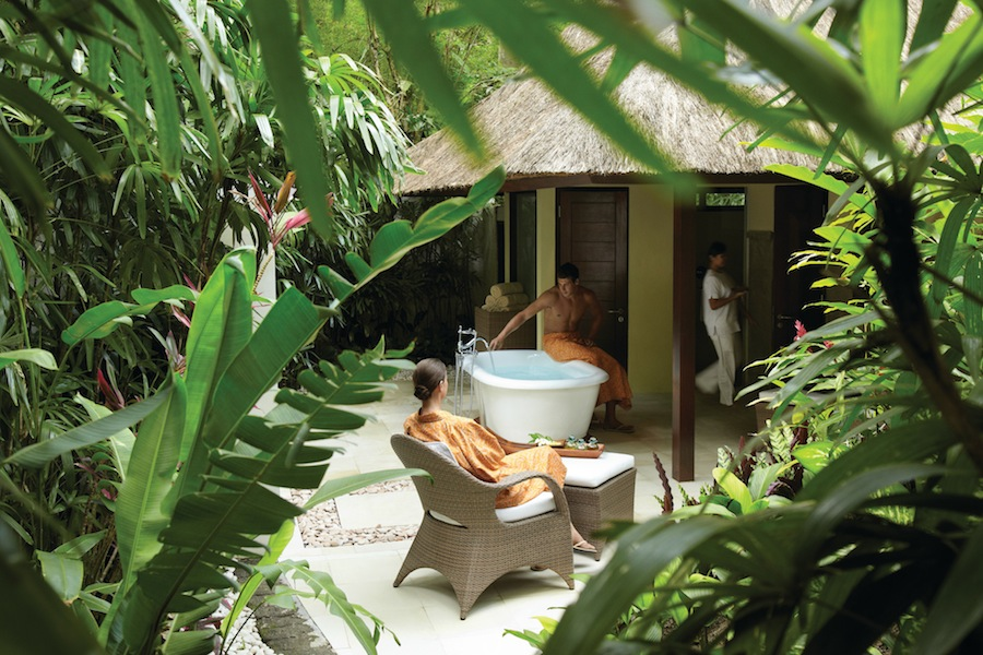 Participants can enjoy spa treatments as part of the package.