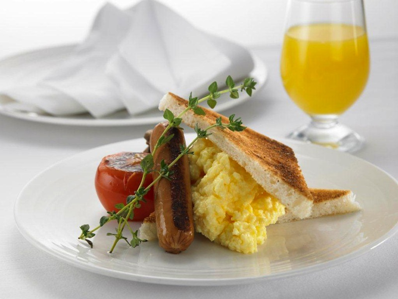 Fresh scrambled eggs are now available in Malaysia Airlines' First Class.