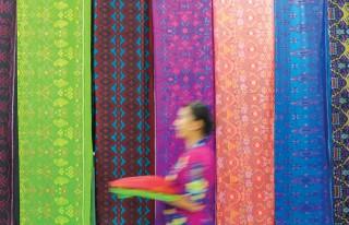 Sarongs in Bali