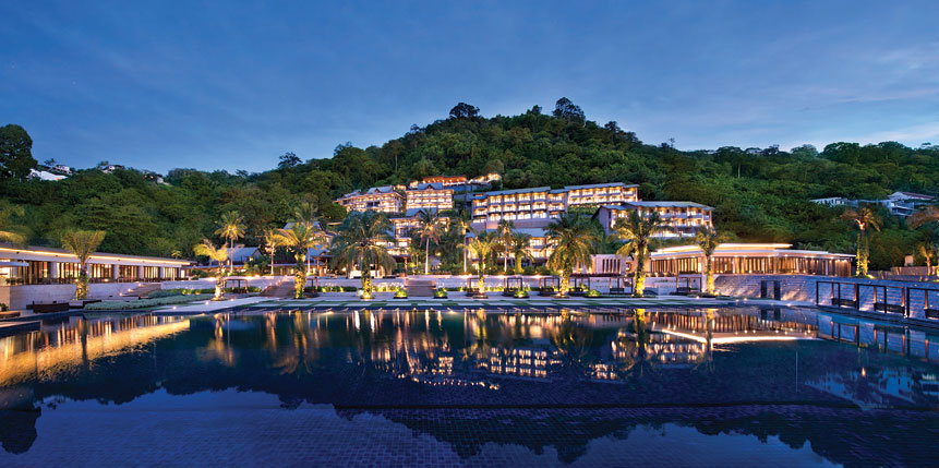 The first Hyatt-branded property built in Phuket is located at the tranquil Kamala Beach.
