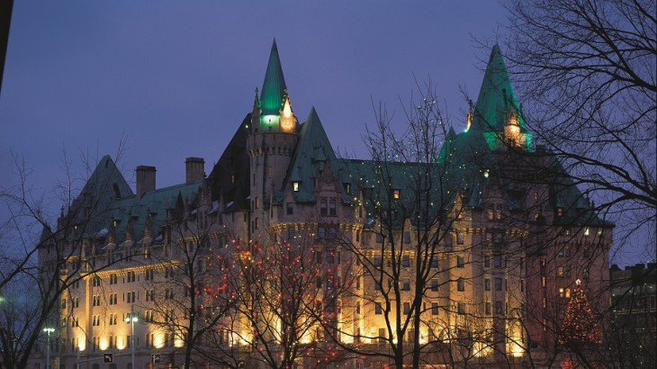 The city's imposing chateau built by railroad magnate Charles Melville Hays is now a posh Fairmont hotel.