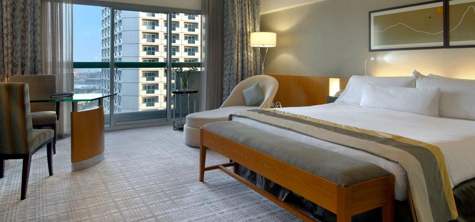 The Fairmont Singapore's race package includes tickets and special access.