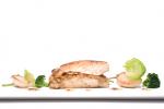 Fish with potato garette