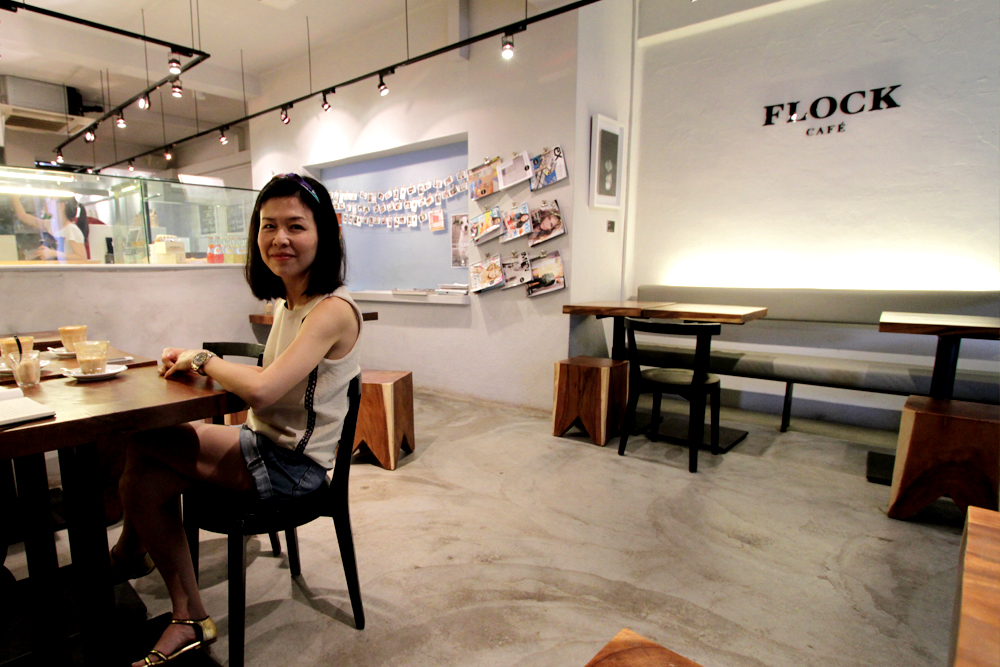Flock's owner, Edith.