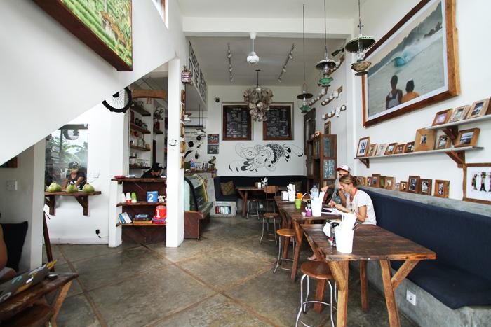 Roti Canai's eclectic café.