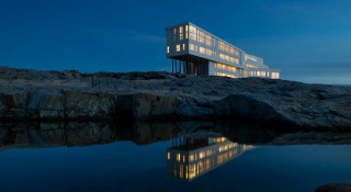 The Fogo Island inn houses a total of 29 rooms and is open all year round.
