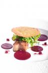 Foie Gras Salad Zoom up