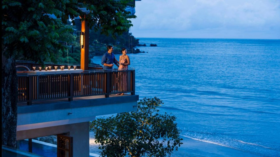 Four Seasons' Bali resort is located at the island's Jimbaran Bay.