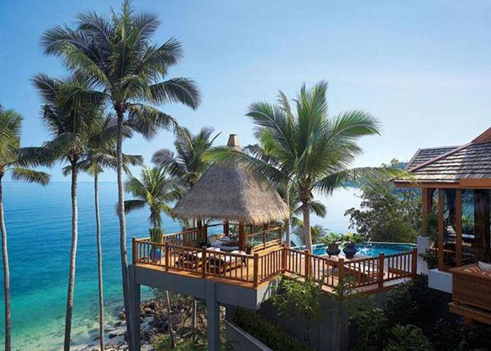 Guests to the Four Seasons Resort Koh Samui can enjoy two private beaches and luxury villas with a private pools.