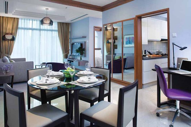 Two Bedroom Premier At Fraser Place Robertson Walk, Singapore.