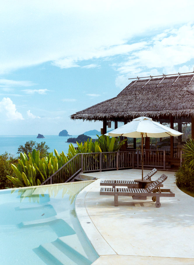 The Six Senses Hideaway's Hill Top Reserve.
