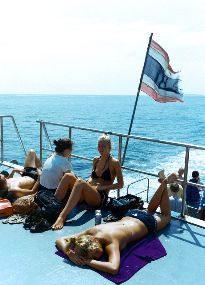 The Ferry to Koh Phi Phi Don.