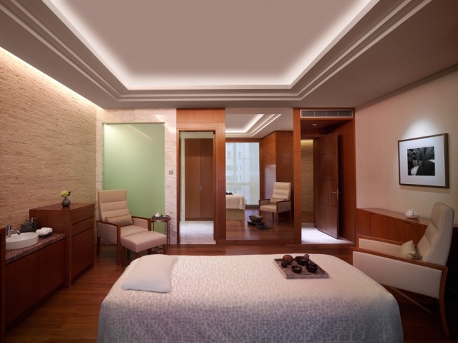The hotel's Essa Spa has 11 treatment rooms.