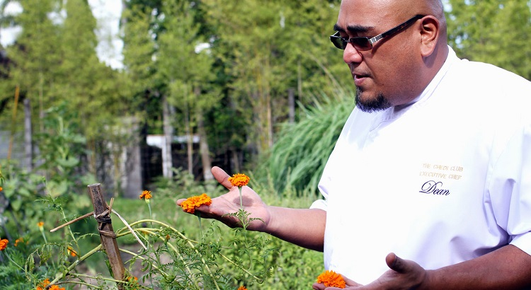 Edible flowers are some of the chef's favorite things to use in the kitchen.