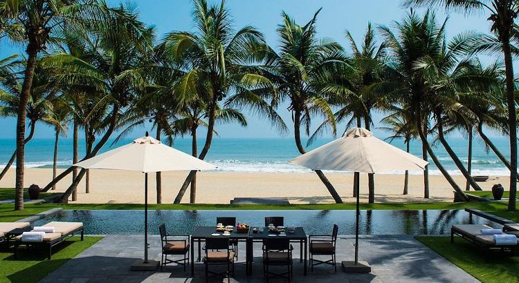 The beachfront pool villa at The Nam Hai Hoi An.